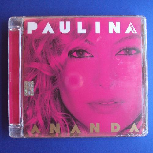 cd paulina rubio ananda edición 2006 nuevo