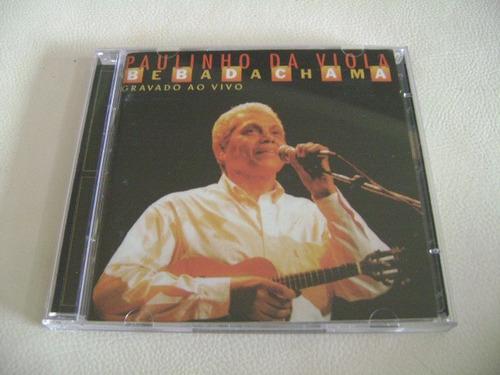 cd paulinho da viola - bebadachama ao vivo ( novo / duplo )