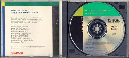 cd paulinho nogueira, alemão e zezo - brasil musical