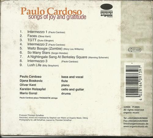 cd paulo cardoso songs of joy gratitude (jazz)
