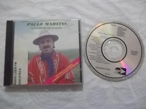 cd - paulo martins - sertanejo