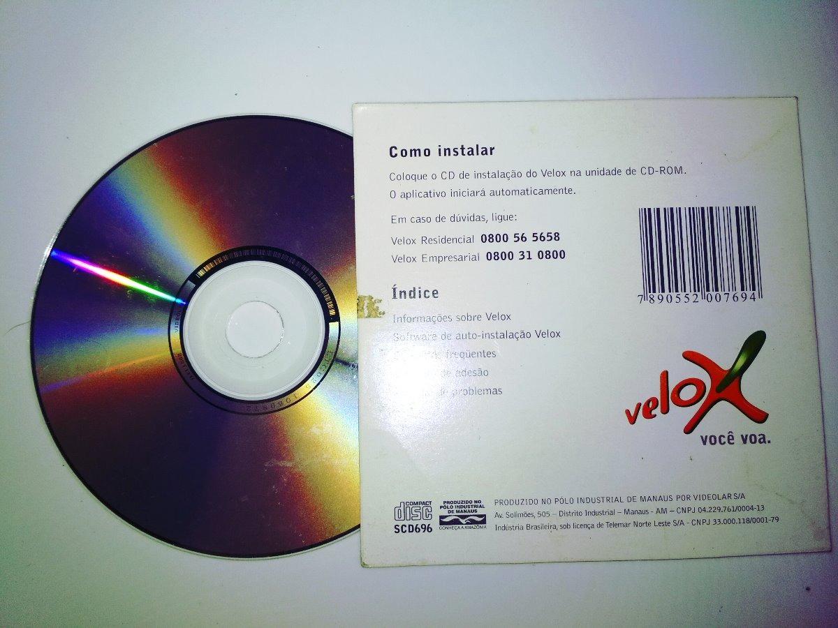 cd instalacao velox