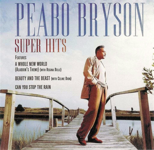 cd - peabo bryson - super hits