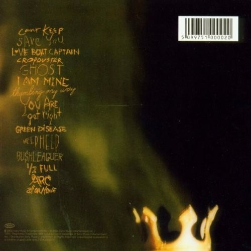 cd pearl jam* riot act