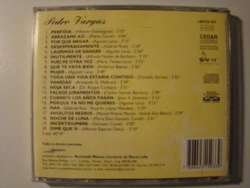 cd - pedro vargas - revivendo