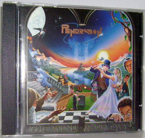 cd pendragon - the window of life ( neo prog britânico )