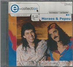 cd pepeu gomes e moraes moreira - e-collection (usado/otimo