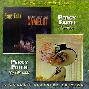 cd percy faith: camelot / my fair lady (23 broadway hits)