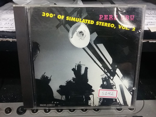 cd - pere ubu - 390 - of simulated stereo, vol.2