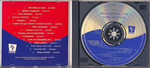 cd péricles cavalcanti - sobre as ondas - 1995