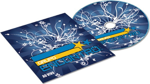 cd personalizado + envelope