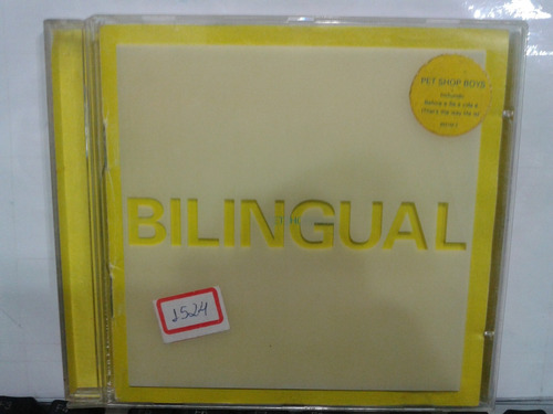 cd - pet shop boys - bilingual (promoção)