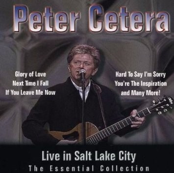 cd - peter cetera - live in salt lake city