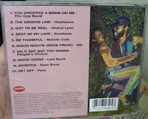 cd  phat trax  best of old school 5 importado - b305