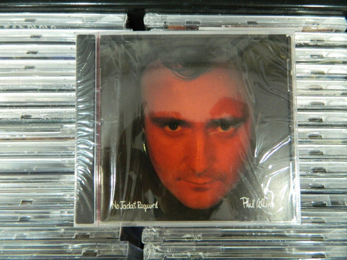 cd - phil collins - no jacket required
