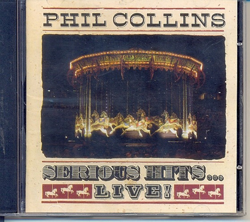 cd phil collins - serious hits... live! - 1990
