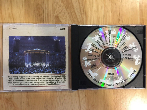 cd phil collins serious hits... live! (1990)