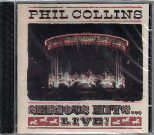 cd phil collins serious hits... live! novo lacrado