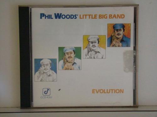 cd - phil woods - litle big band - evolution
