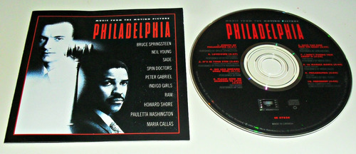 cd philadelphia / music from the motion pictures / importado