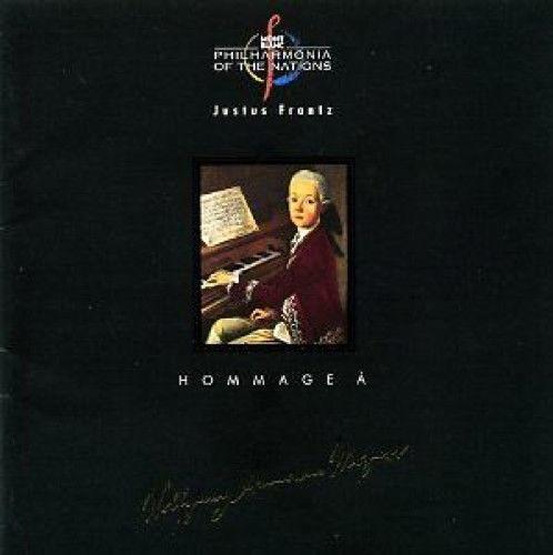 cd philharmonia of the nations - justus frantz  (importado)