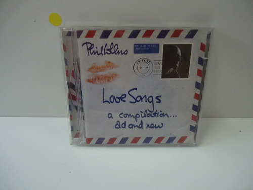 cd phill collins - love songs  a compilation and new - duplo