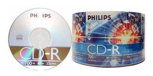 cd phillips original cd-r virgen 80 min 700 mb 52x