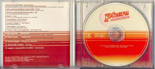 cd pícara sonhadora - 2001 - novela tv sbt