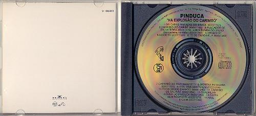 cd pinduca na explosão do carimbó - 1993 - guitarrada