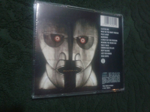 cd pink floyd the division bell original