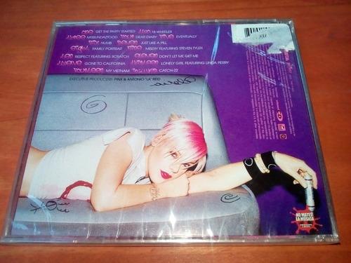 cd - pink - missundaztood - nuevo sellado