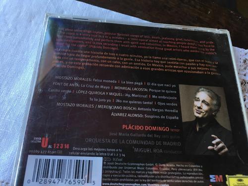 cd placido domingo pasión española