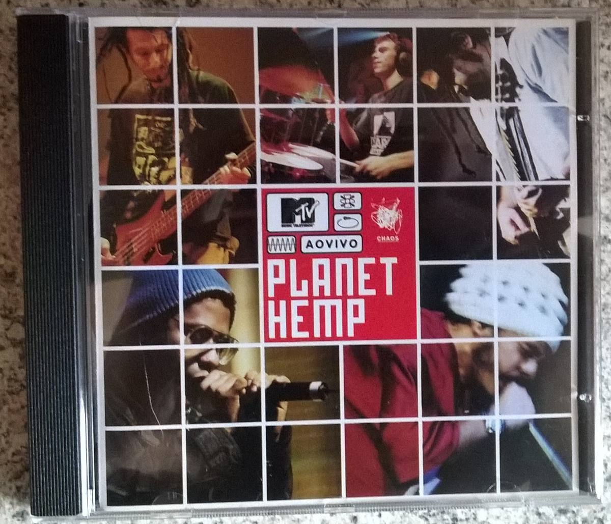 cd planet hemp mtv ao vivo 2001