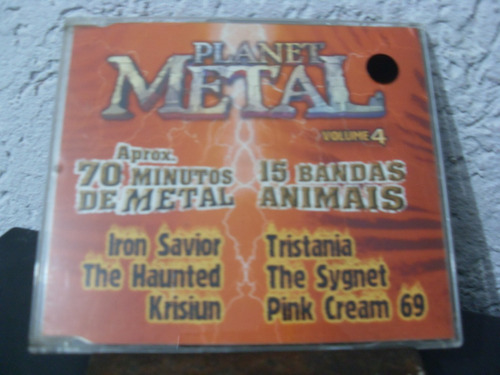cd planet metal volume  4  # diversos
