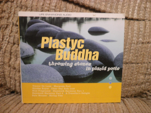 cd plastyc buddha throwing stones in placid pools importado