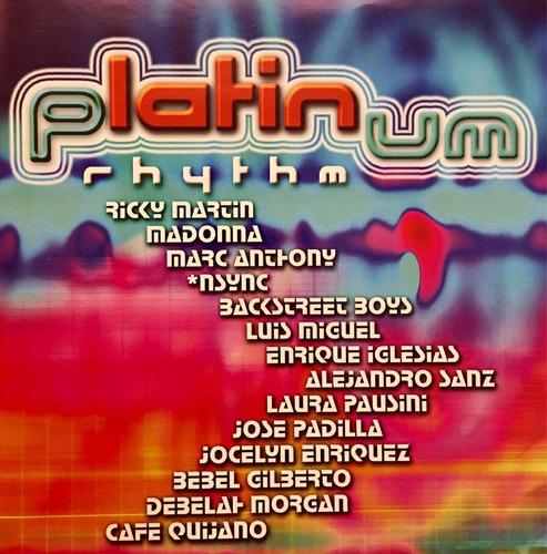 cd platinumrhythm ricky martin madonna marc anthony nsync