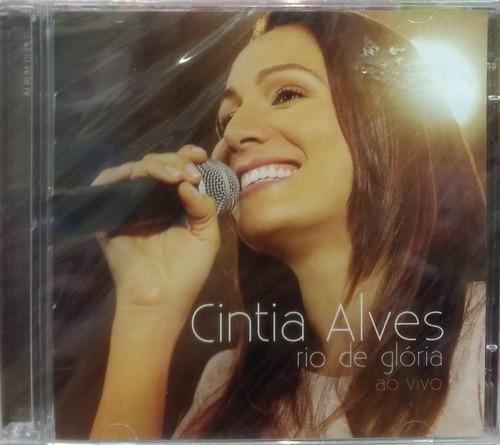 cd + playback cintia alves - rio de glória [original]