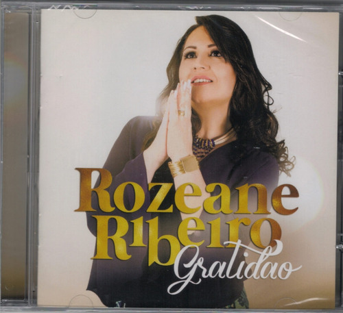 cd + playback rozeane ribeiro - gratidão