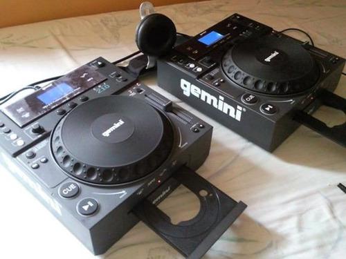 cd player geminis cdj - 210 mezcladores nuevos el par