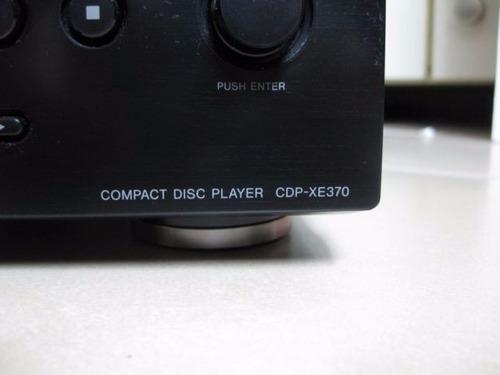 cd player hi-fi  sony cdp-xe370 reproductor de cd discos