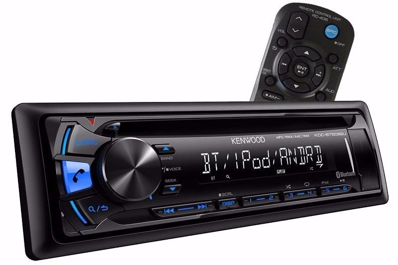 e6398319453 cd player kenwood kdc-bt5062u usb iphone android bluetooth. Carregando zoom.