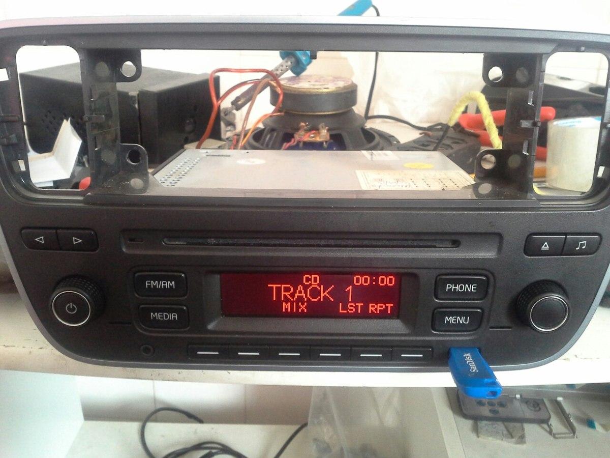 cd player original vw up fotos do mesmo r 699 00 em mercado livre. Black Bedroom Furniture Sets. Home Design Ideas