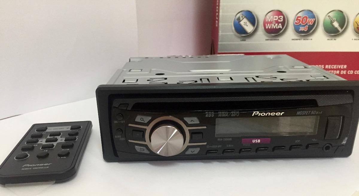 cd player pioneer deh 2350 ub r 250 00 em mercado livre rh produto mercadolivre com br Pioneer Super Tuner 3D Manual Pioneer Home CD Players
