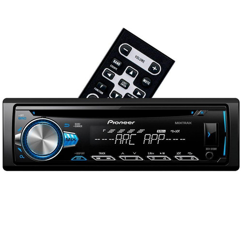 cd player pioneer deh-x10br mixtrax spotify usb smartphone