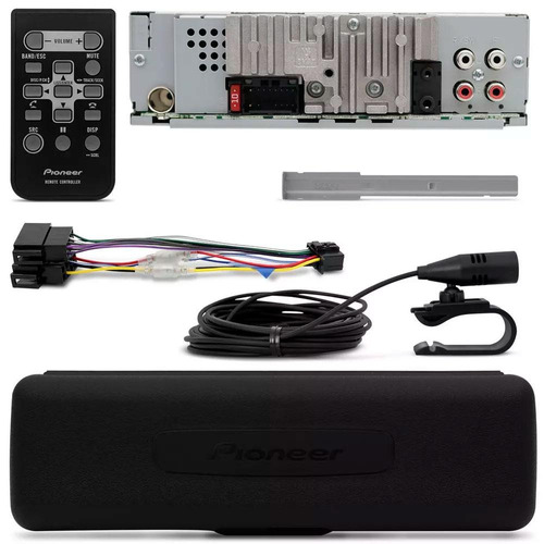 cd player pioneer deh-x50br bluetooth interface android ios