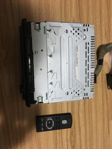 cd player sony xplod bt2500 - na caixa
