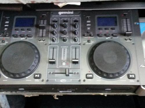 cd players gemini mp3 con mezclador incorporado como nuevo