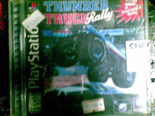 cd playstation 1 original (thunder truck rally)