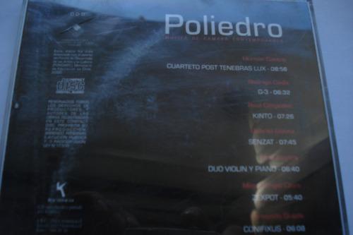 cd poliedro musica de camara contemporanea chileno