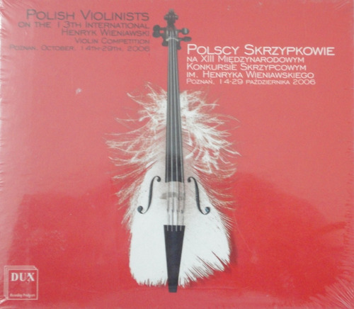 cd polish violinists on the 13th international - lacrado
